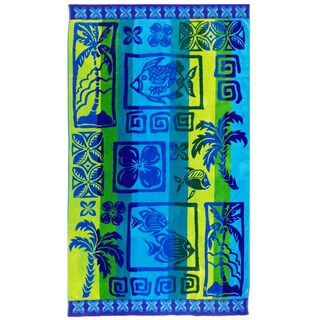 Celebration Velour Island Beach Towel (Set of 2)