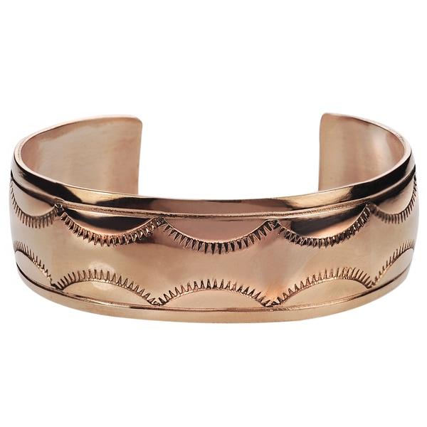 Riverbend Copper Handcrafted Cuff Bracelet