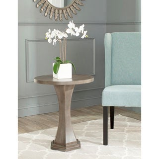 Safavieh Alston Saddle Brown End Table