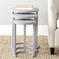 Safavieh Sawyer Medium Grey Stacking Table (Set of 3)