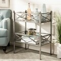 Safavieh Jamese Silver Storage Shelves