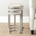 Safavieh Sawyer Light Grey Stacking Table (Set of 3)
