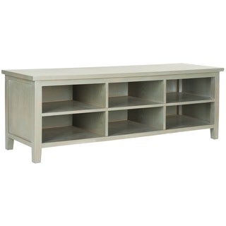 Safavieh Sadie Ash Grey Low Bookshelf
