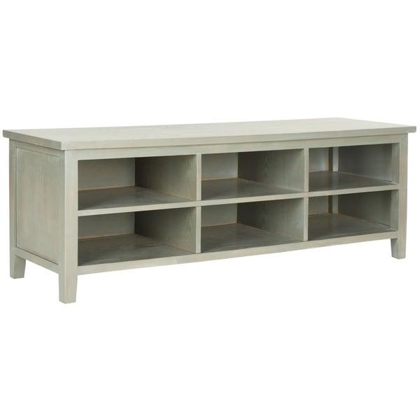 Safavieh Sadie Ash Grey Low Bookshelf
