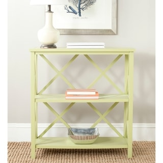 Safavieh Liam Avocado Green Open Bookcase