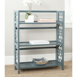 Safavieh Natalie Teal Low Bookcase