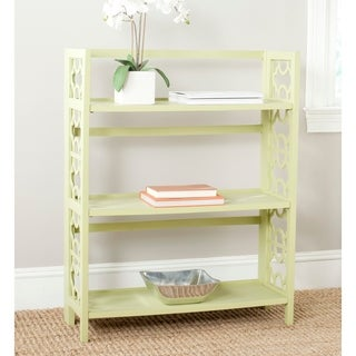 Safavieh Natalie Avocado Green Low Bookcase