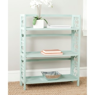 Safavieh Natalie Celadon Low Bookcase