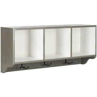 Safavieh Alice Ash Grey/ White Wall Shelf