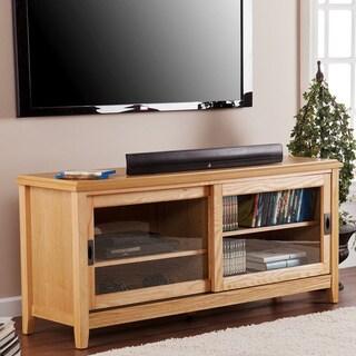 Upton Home Elisa Natural Oak TV/ Media Stand