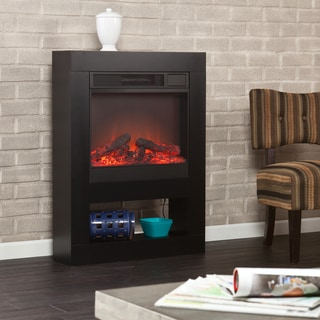 Holly & Martin Mofta Black Electric Fireplace