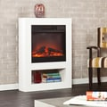 Holly & Martin Mofta White Electric Fireplace