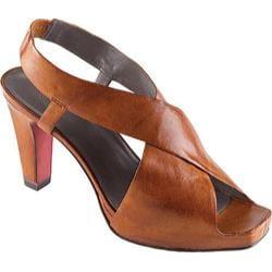 Women's Oh! Shoes Pauletta Orange Artisan Burnished Leather