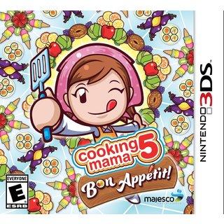 Nintendo 3DS - Cooking Mama 5: Bon Appetit