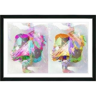 Zhee Singer 'Double Gordian' Framed Fine Art Print