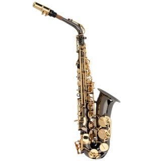 Ravel Black Nickel Key of Eb Alto Saxophone
