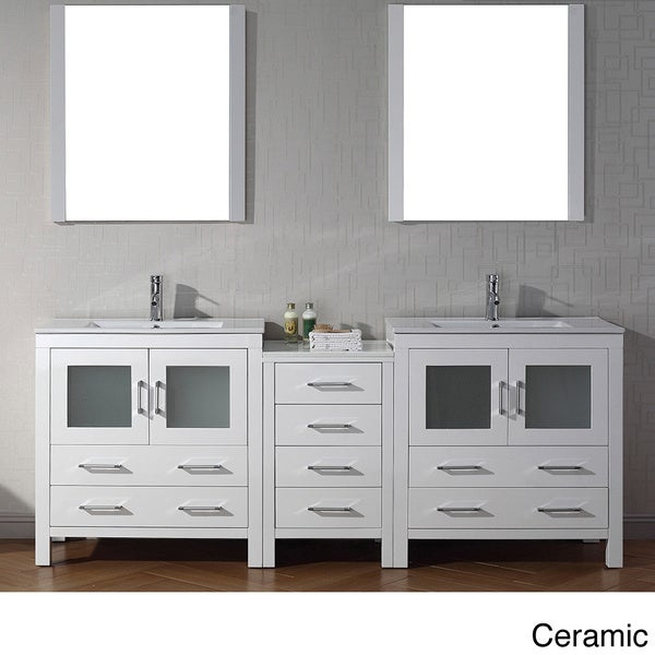 Com shopping great deals on design element bathroom vanities - In White Overstock Shopping Great Deals On Virtu Bathroom Vanities