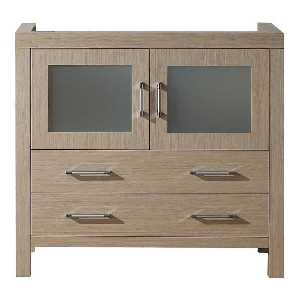 usa dior 36 inch light oak single sink cabinet only bathroom vanity