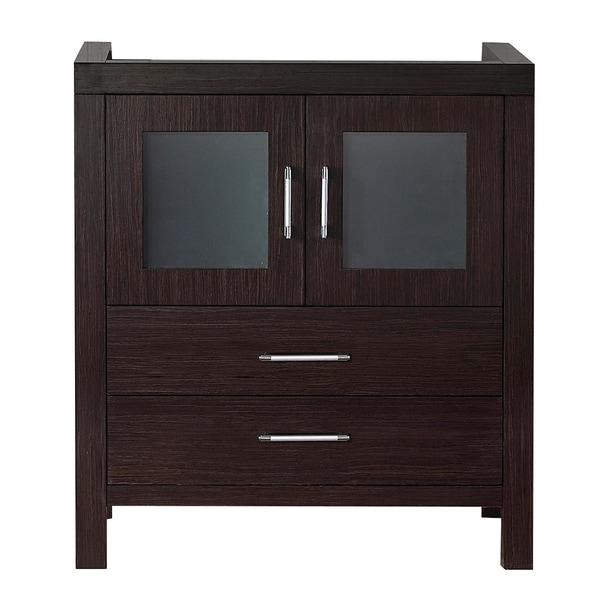 usa dior 28 inch zebra grey single sink cabinet only bathroom vanity