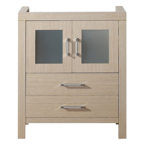 Virtu usa dior 28 inch light oak single sink cabinet only for 28 inch vanity cabinet