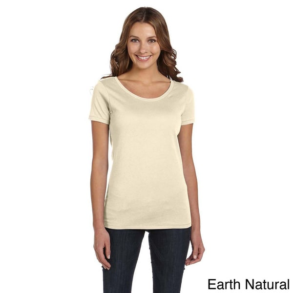 Alternative Women's Organic Cotton Scoop Neck T-shirt 12680425