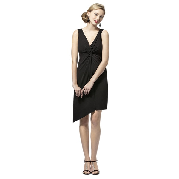 Dessy Collection Women's 'Tina' Matte Jersey Twist Front Dress