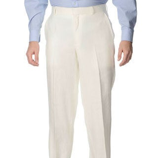 Henry Grethel Men's Big & Tall Flat Front Pant