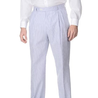 Henry Grethel Men's Big & Tall Pleated Front Pant