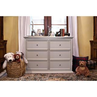 Million Dollar Baby Classic Foothill-Louis 6-Drawer Changer Dresser