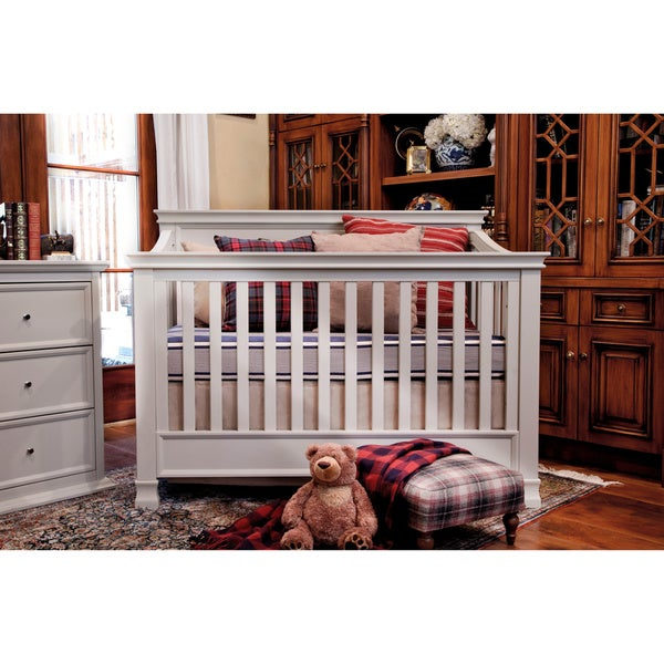 Million Dollar Baby Classic Foothill 4-in-1 Convertible Crib and Toddler Rail
