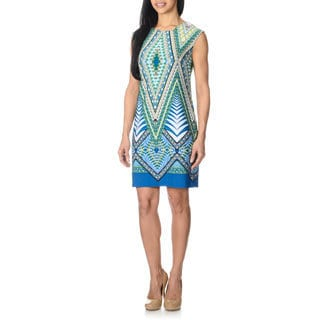 Studio One Women's Abstract Print Dress