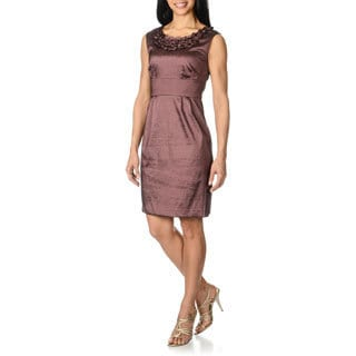 Studio One Women's Taffeta Dress