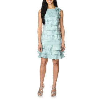 Studio One Women's Layered Dress