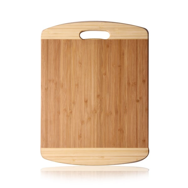 Adeco Natural Bamboo Lightweight Chopping Board
