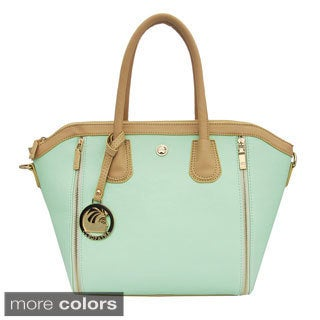 Cleopatra Kelly Expandable Tote Bag with Zipper Detail