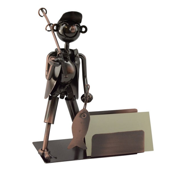 WineBodies Fisherman Business Card Holder