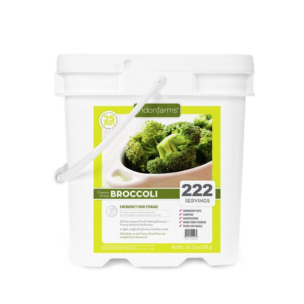 Lindon Farms Freeze-dried Broccoli (222 Servings)