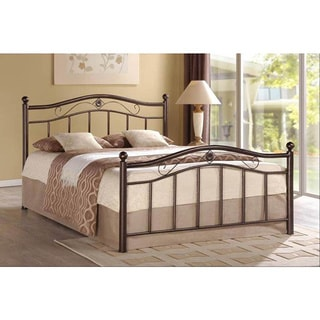 Bronze Metal Platform Bed