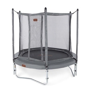 Jumpfree Proline 8 Foot Titanium Grey Trampoline And