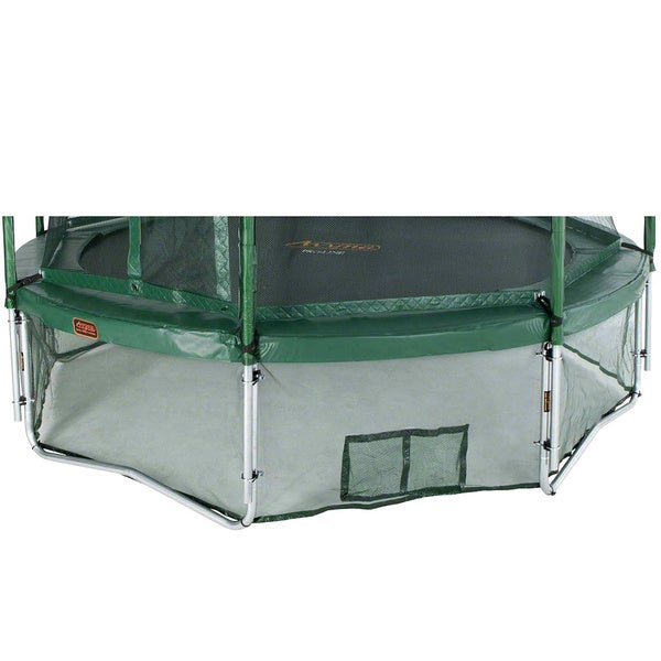 Green 15 Foot Trampoline Safety Skirt