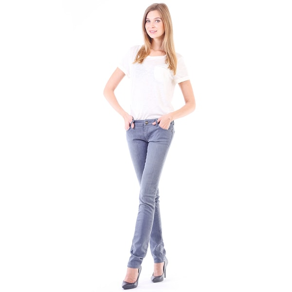 Stitch's Women's The Fox Denim Light Wash Slim Jeans