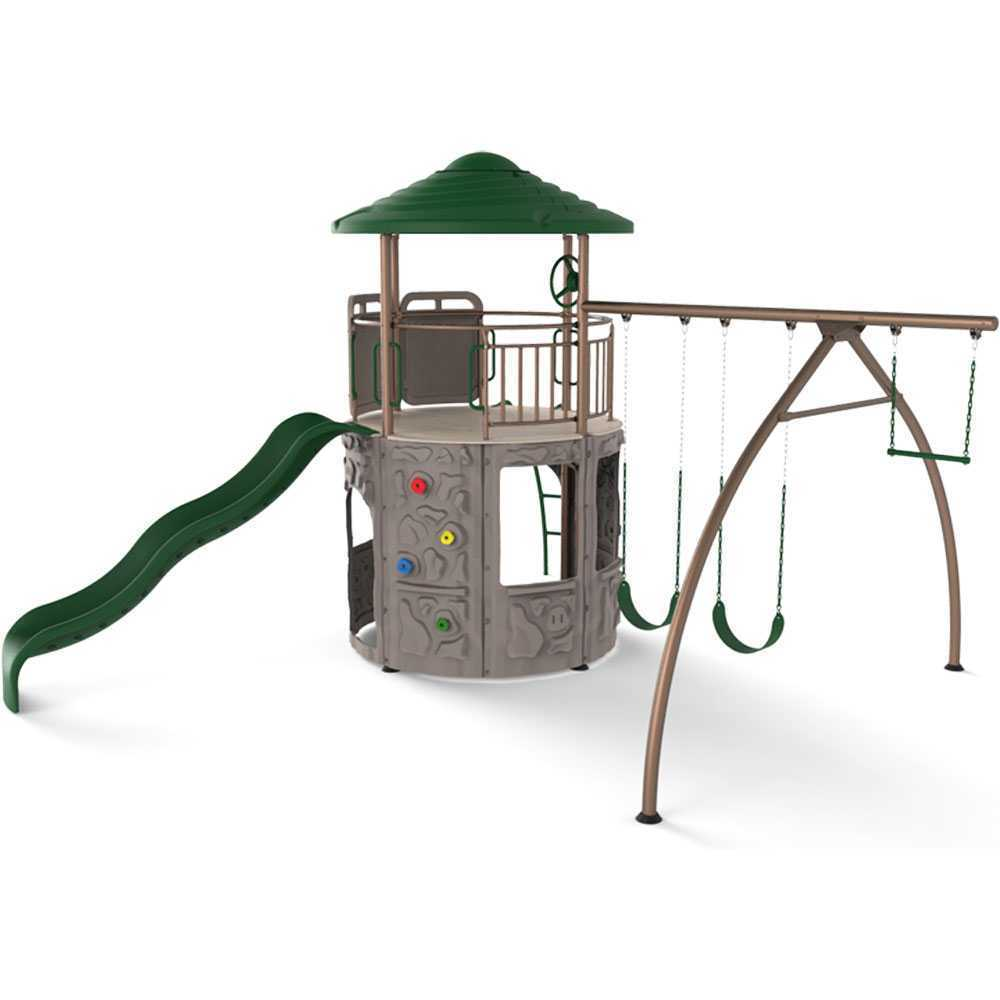 Lifetime Adventure Tower Playset Overstock Shopping