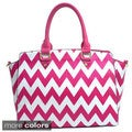Chevron Printed Satchel