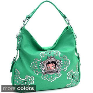Betty Boop Hobo with Rhinestone Crest