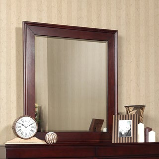 Newberry Cappuccino Ractangular Armoir Mirror
