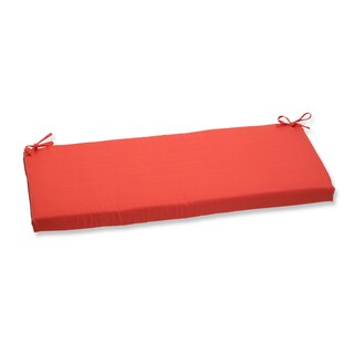 Pillow Perfect Outdoor Coral Bench Cushion