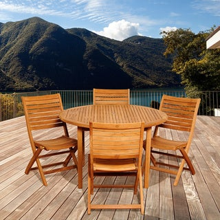 Mariana 5-piece Teak Dining Set