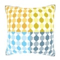 Abstract Diamonds Are Four Ever 18-inch Velour Throw Pillow