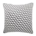 Abstract Honeycomb Grid 18-inch Velour Throw Pillow