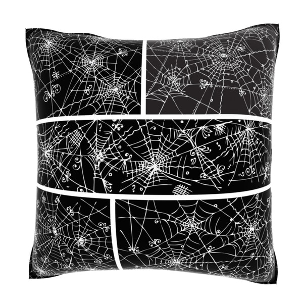 Web Background Pattern 18-inch Velour Throw Pillow